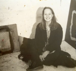 Annabel Keatley in her studio
